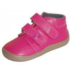 Beda barefoot růžové kotníkové Janette s membránou