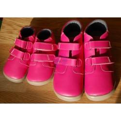 ... Beda barefoot růžové kotníkové Janette s membránou velikost 25 a 35 9030272987