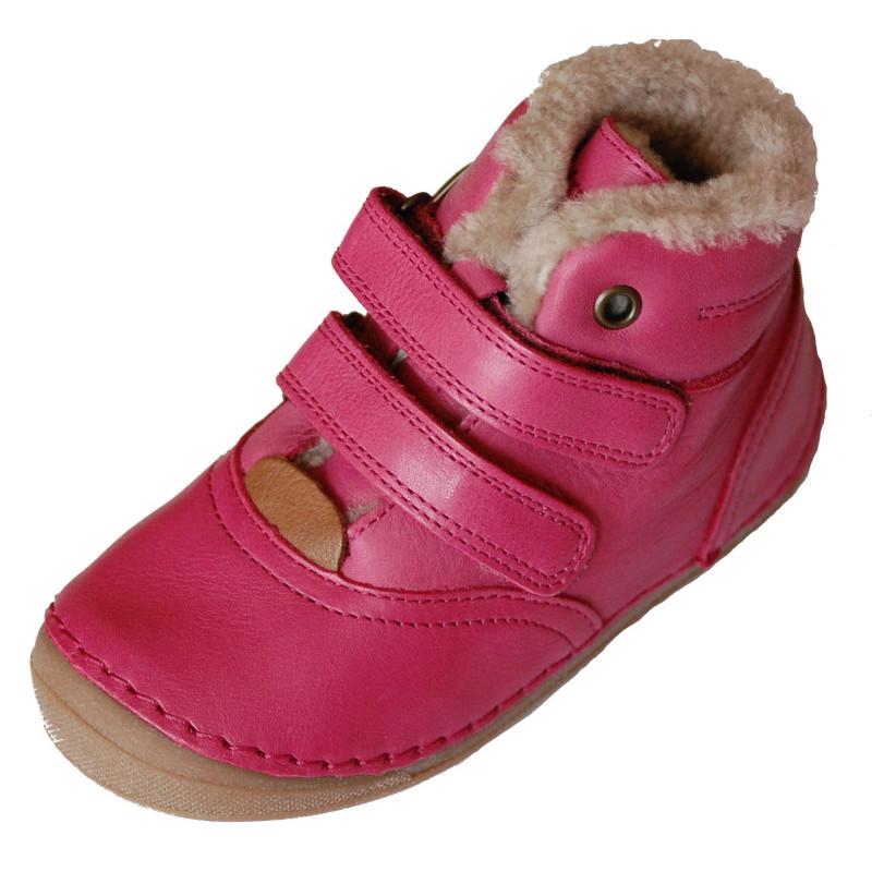 Dětské zimní boty Froddo flexible růžové s jemnou kožešinkou ... b5175224b0