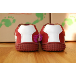 Filii barefoot Leguan Nappa/Textile Berry M