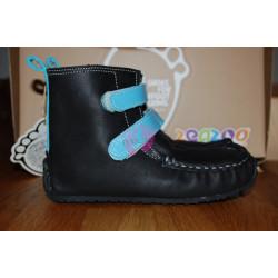 ZeaZoo YETI Black with light blue in waterproof