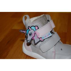 Baby Bare ozdoba suchého zipu dětských bot - Jednorožec