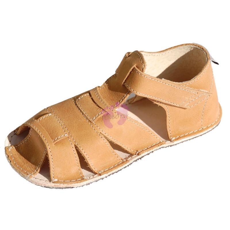ORTOplus barefoot sandálky BF D201 (šíře G), béžové