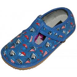 Protetika barefoot papučky Raven Blue