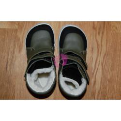 Baby Bare Shoes FEBO WINTER Khaki okop