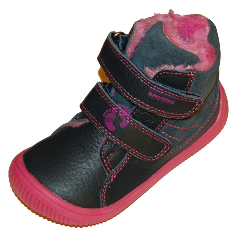 Protetika barefoot zimní KABI navy