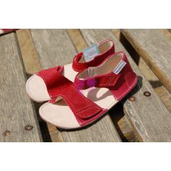 OKbarefoot sandálky Mirrisa BFD203 05/R41 G, červené