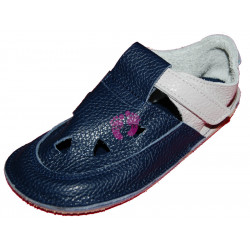 Baby Bare Shoes Gravel Top Stitch