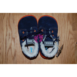 Zimní barefoot Beda nízké Blue Mandarine, BF 0001/MK