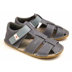 Ef Barefoot sandálky Šedá