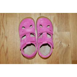 Lurchi barefoot sandále NANDO Fuxia