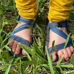 Sandále XERO SHOES 21 Z-TRAIL YOUTH Multi-Blue