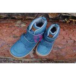 Zimní Barefoot Koel Hidro Warm - Turquoise, merino