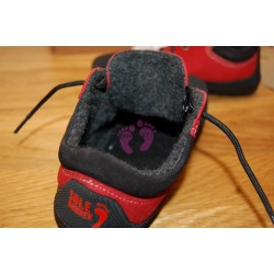 Sole Runner PAN Red/Black - vnitřek boty - fleece