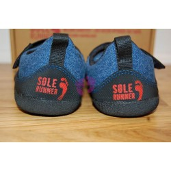 Sole Runner PUCK Blue/Black zezadu