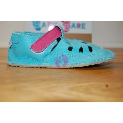 Baby Bare Shoes Flower Top Stitch ze strany