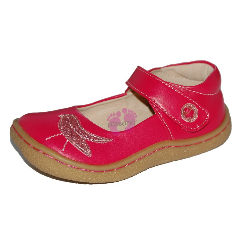 Livie and Luca Pio Pio Hot Pink - Leather